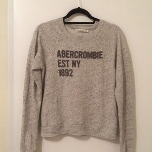 Abercrombie & Fitch Sweatshirt, size Medium